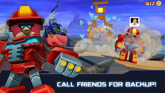 Angry Birds Transformers Mod Apk Full