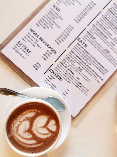 Coffee latte from UkeHUB Kafe in Mactan Island Lapulapu City Cebu Philippines