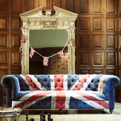 Union Jack in Home Dcor - Driven by Decor