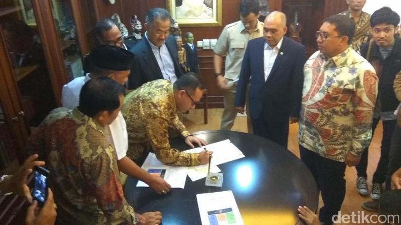 Demi Ahok Lengser, 11 Anggota DPR Fraksi Gerindra Ajukan Hak Angket, Berikut Nama Namanya