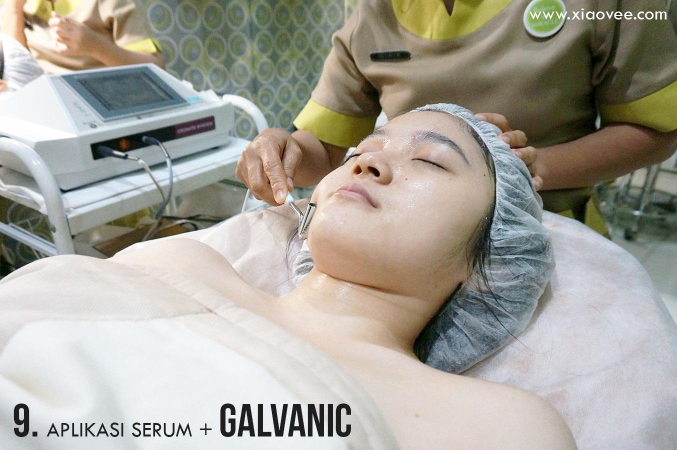 Miracle Pearl Shine Facial, facial galvanic, galvanic serum