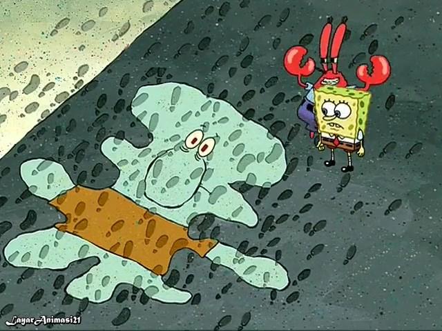 SpongeBob Season 2 Episode 20B - Squid on Strike SD 480p Dub Indo