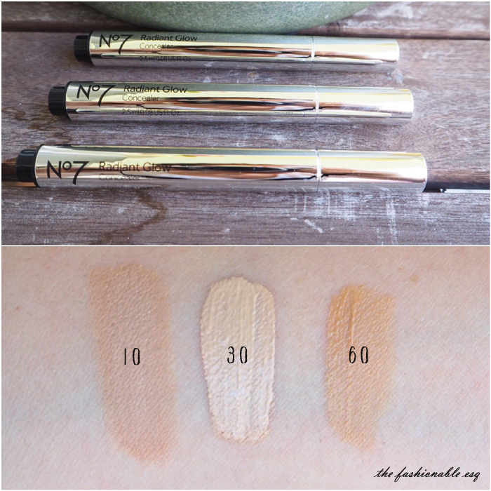 Concealer Swatches No7