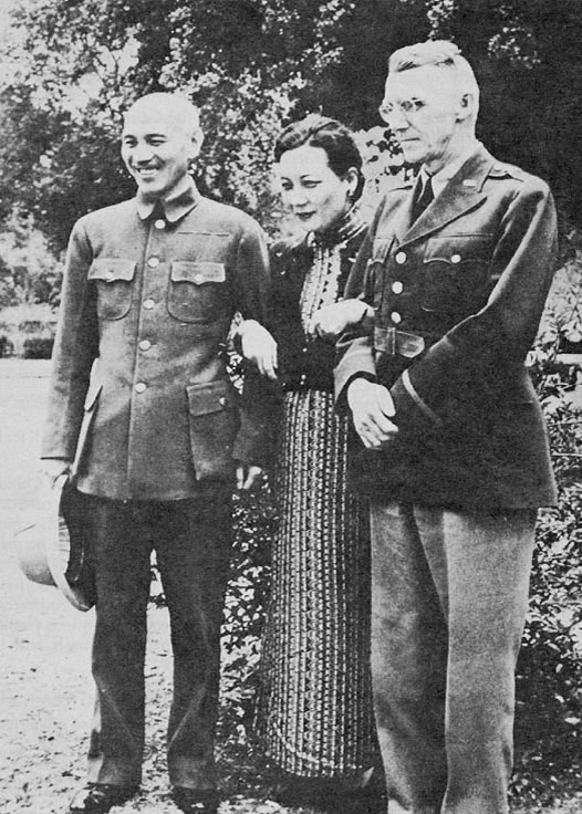 Joseph Stilwell and Chiang Kai-shek