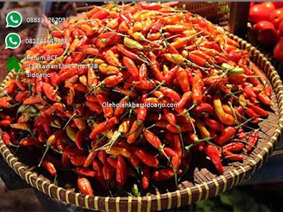 Bahan bumbu cabe rawit berkwalitas untuk Sambel kobong'an rasa super pedas