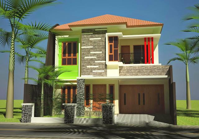 Bina atau Buat Rumah Rekaan Moden