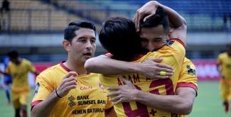 Piala Presiden 2018: Taklukkan Arema, Sriwijaya FC Tantang Bali United di Semifinal
