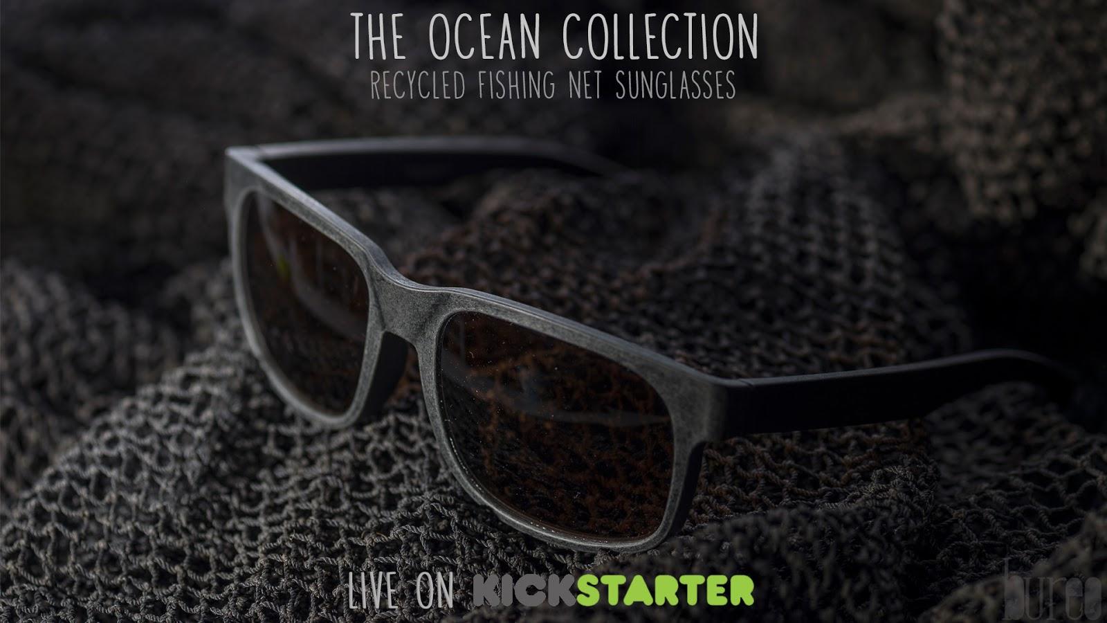 427826d661 The Ocean Collection: los anteojos de redes plásticas de pesca en pos de  combatir la contaminación marina