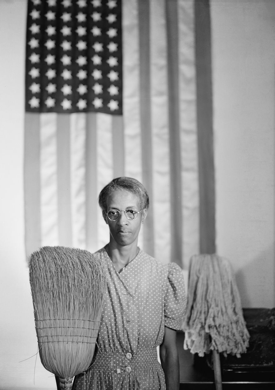 #61 American Gothic, Gordon Parks, 1942 - Top 100 Of The Most Influential Photos Of All Time