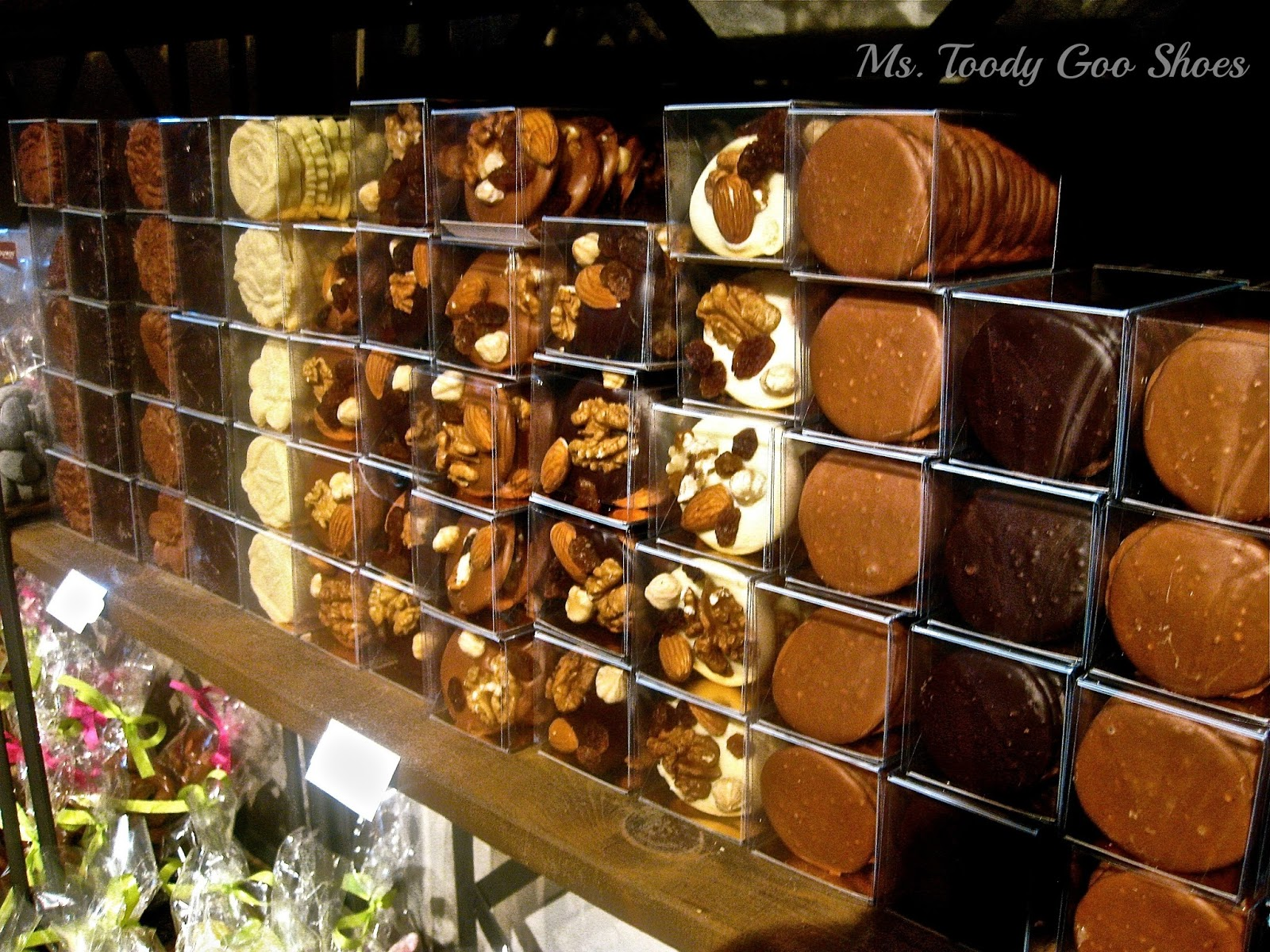 Dumon Chocolatier, Bruges, Belgium ---  Ms. Toody Goo Shoes