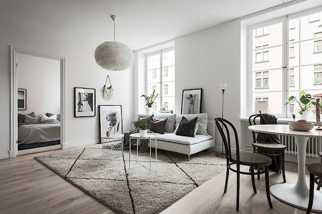 Wonderful scandinavian elegance in the interior