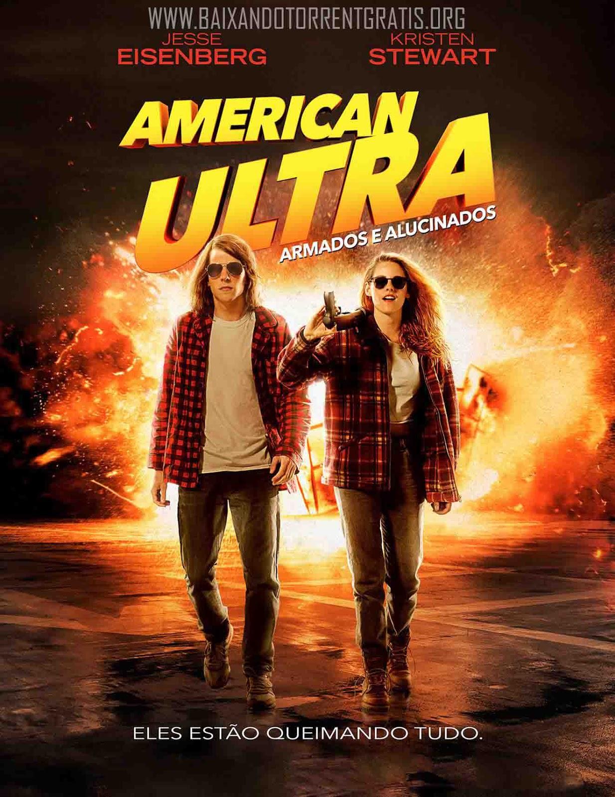 American Ultra: Armados e Alucinados Torrent - Blu-ray Rip 720p e 1080p Dual Áudio (2016)
