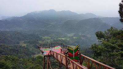 Wisata Rumah Pohon Pabangbon di Bogor