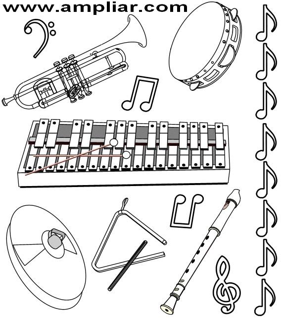 """EDUCAR PARA A VIDA"": INSTRUMENTOS MUSICAIS"