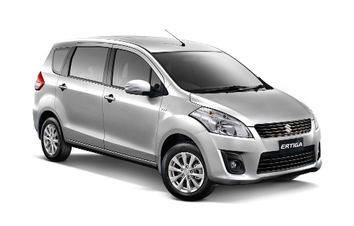 Suzuki Ertiga Silky Silver Metallic