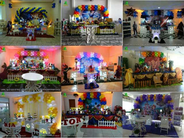 Decoração de festa infantil - Decoração de aniversário, mesa de tema decorada para festas - Rio de Janeiro - RJ