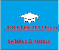 UP B.Ed JEE 2017 Exam Syllabus, Pattern & Scheme & Old Papers