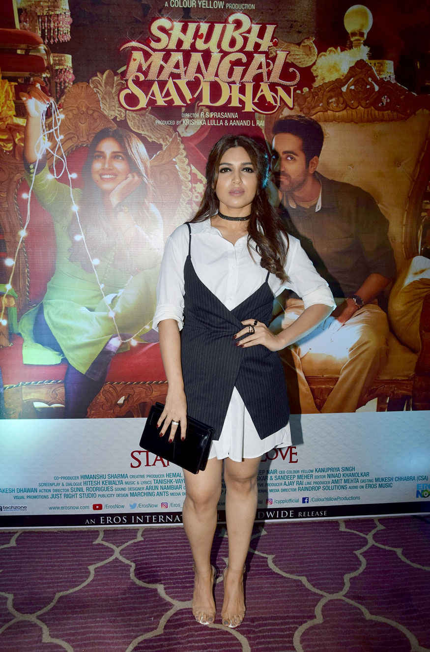 'Shubh Mangal Savdhan' Movie Success Party Gallery
