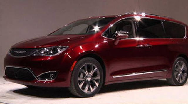 2017 Chrysler Pacifica Release