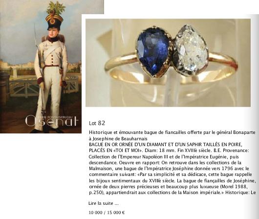 Napoleon And Josephine Engagement Ring