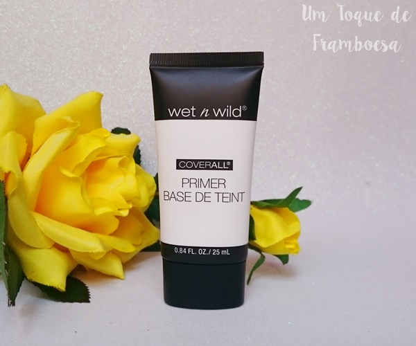 Resenha do primer facial Wet'n Wild Coverall