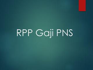 RPP Gaji dan Kaitannya dengan Tunjangan Kemahalan PNS RPP Gaji dan Kaitannya dengan Tunjangan Kemahalan PNS