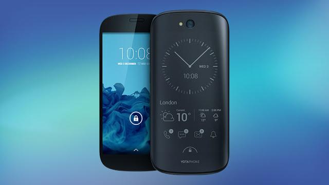 YotaPhone é um smartphone Android muito bom!