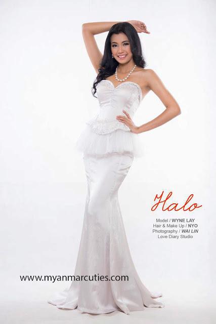 Miss Myanmar World 2014- Wyne Lay
