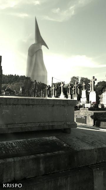 espiritu guardian en el cementerio