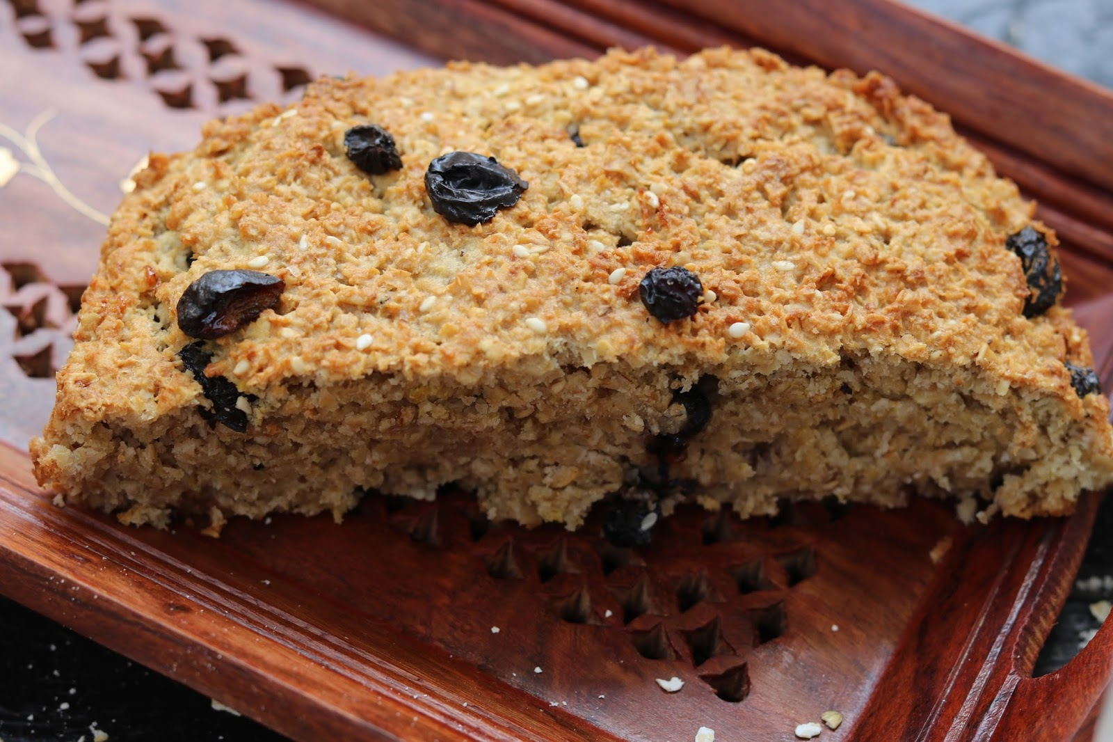 Cake Recipe With Kadai: Healthy Oats Cake (NO Flour, Oil, Butter)