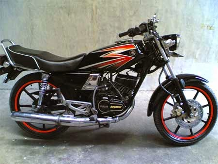 koleksi gambar motor RX King jadul