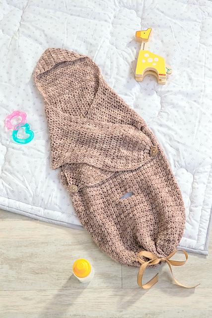 Baby cocoon Crochet pattern