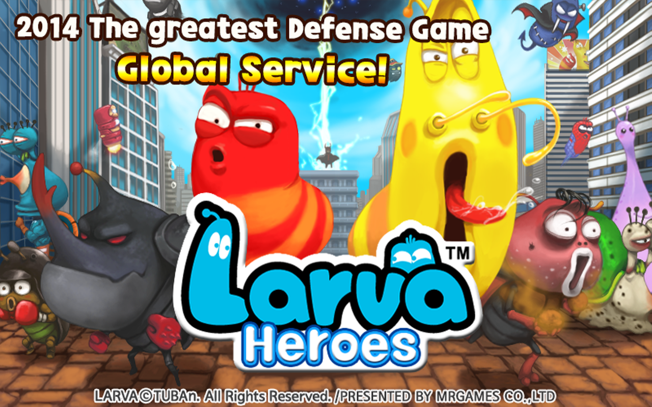 download game larva heroes mod apk data