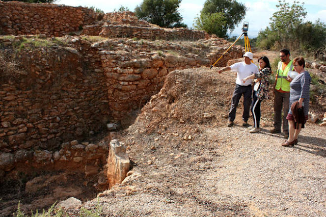 New ceramic and bone remains found at Spain's Torrello del Boverot site