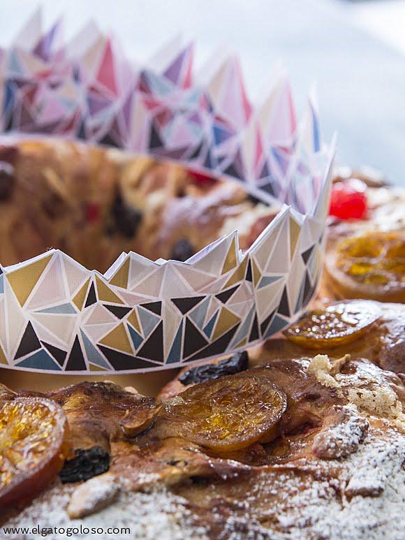 El gato goloso: Bolo Rei, la rosca de reyes que se consume en Portugal, cargada de frutos secos, pasas y aromatizada con naranjas y oporto. Exquisita!