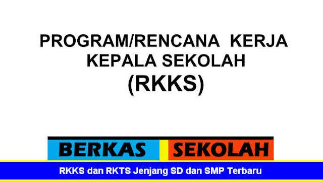 RKKS dan RKTS Jenjang SD dan SMP Terbaru