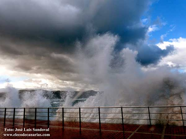 Con temporal en Canarias para finales de enero
