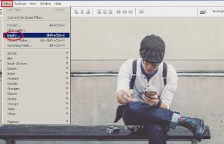 Membuat Efek Dispersion Smoke atau Serpihan Asap dengan Adobe Photoshop CS3
