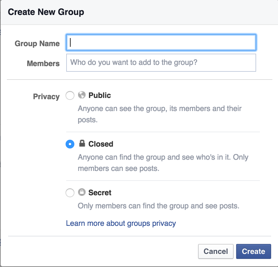 how to create public event on facebook