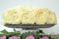 Rose Red Velvet Cake