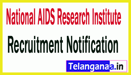 National AIDS Research Institute NARI Recruitment Notification