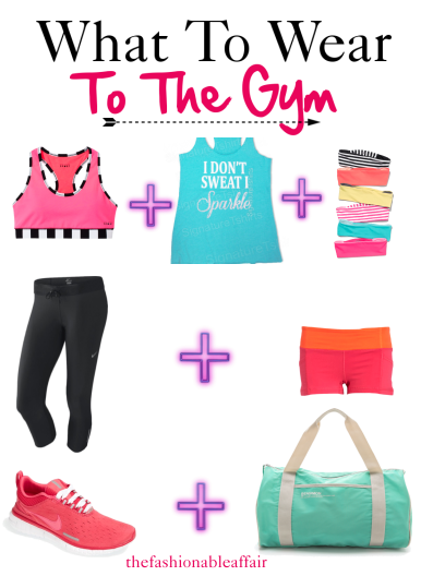 gym fashion, gym clothes