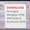 perangkat pembelajaran rpp pjok smp kelas 8 k13 edisi revisi 2017