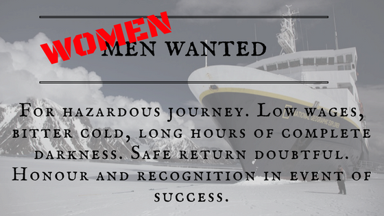 Bioblogia.net Women needed for Antarctic adventure