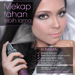 Collagen Facial Spray Sendayu Tinggi