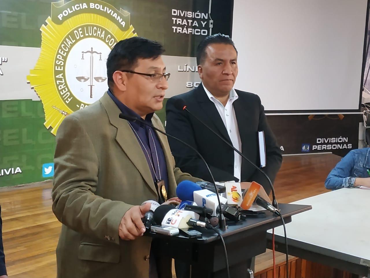 FELCC y CNS de Oruro hallaron al tramitador en flagrancia / ÁNGEL SALAZAR