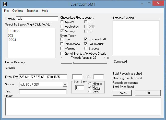 Briano IT: Troubleshooting Windows Domain Account Lockouts