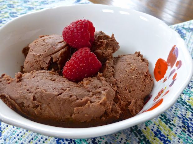 "Pure And Simple Nourishment Chocolate Raspberry ""ice Cream"" With Gelatin Paleo Added"