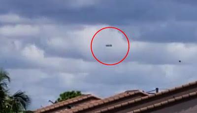 Mujer capta en video un impresionante avistamiento OVNI en Florida