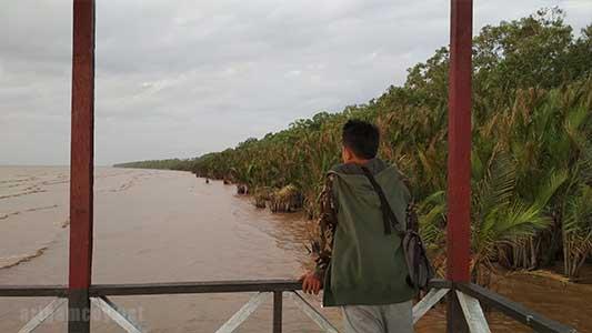 Kawasan wisata Equator park desa jeruju besar kubu raya